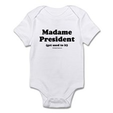 Madame President (get used to it) Onesie