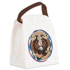 CB12 WE RIDE EAGLE Canvas Lunch Bag
