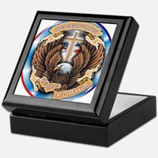 CB12 WE RIDE EAGLE Keepsake Box