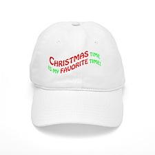 ChristmasTime Baseball Cap