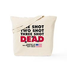 One Shot Two Shot Tote Bag