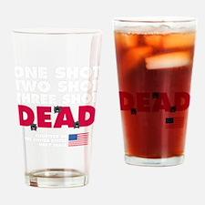 One Shot Two Shot_dark Drinking Glass