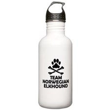 Team Norwegian Elkhound Water Bottle