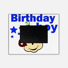 birthday boy monkey Picture Frame