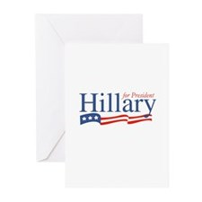 Hillary for President Greeting Cards (Pk of 10