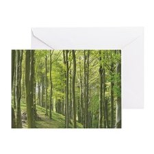 Woods - mouse Greeting Card