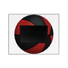 Ball-Basketball-Red-Black-001.png Picture Frame