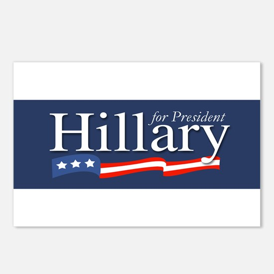 Hillary for President Poster Postcards (Package of