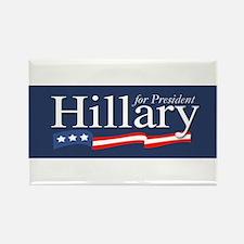 Hillary for President Poster Rectangle Magnet