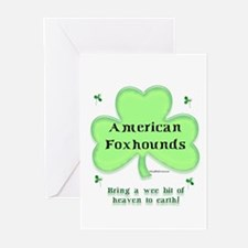 Foxhound Heaven Greeting Cards (Pk of 10)
