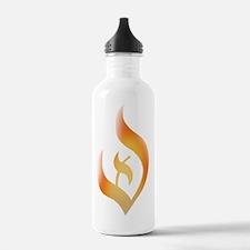 deist-flame-fire Water Bottle