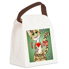 I Love Cats PosterP Canvas Lunch Bag