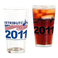 Retribution 2011 Drinking Glass