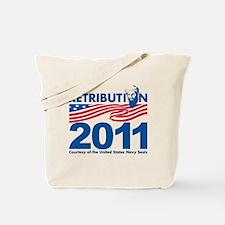 Retribution 2011 Tote Bag
