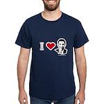 I heart Barack Obama Dark T-Shirt