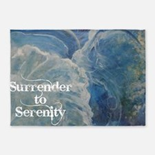 surrender2serenity2_poster 5'x7'Area Rug