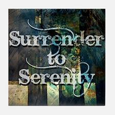 surrender2serenity Tile Coaster