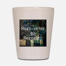 surrender2serenity Shot Glass