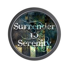 surrender2serenity Wall Clock