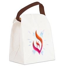 Deist Flame Starburst Canvas Lunch Bag