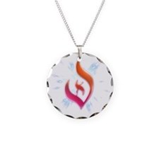 Deist Flame Starburst Necklace