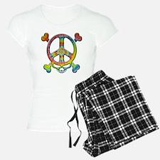 skull-peace-T Pajamas