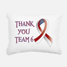 Thank You 6 Rectangular Canvas Pillow