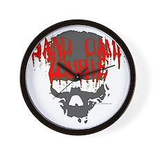 band camp zombie Wall Clock
