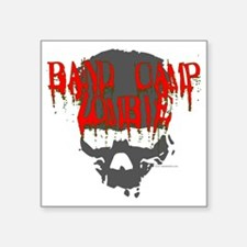 "band camp zombie Square Sticker 3"" x 3"""