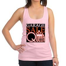 G_SALE_QUEEN Racerback Tank Top