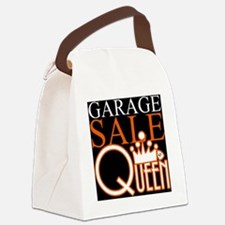 G_SALE_QUEEN Canvas Lunch Bag