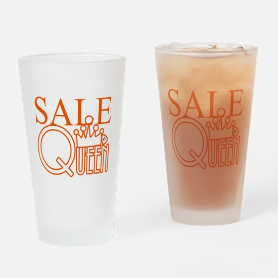 G_SALE_QUEEN Drinking Glass
