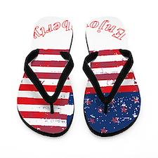 Enjoy Liberty Dark Flip Flops