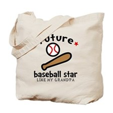 Baseball Grandpa Tote Bag