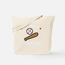 Softball Sis -dk Tote Bag