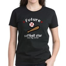 Softball Sis -dk Tee