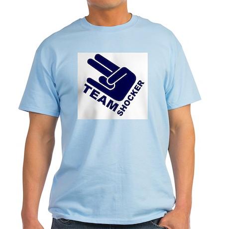 Team Shocker Ash Grey T-Shirt