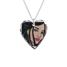IsabellaSq2 Necklace Heart Charm