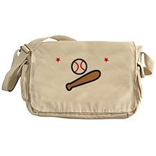 Baseball Bro -dk Messenger Bag