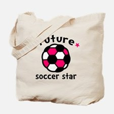 Soccer Star Tote Bag