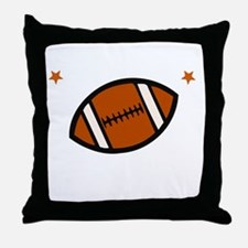 Football Bro -dk Throw Pillow