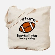 Football Dad Tote Bag