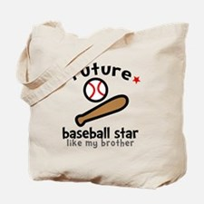 Baseball Bro Tote Bag