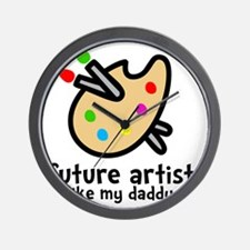 Artist Dad Wall Clock