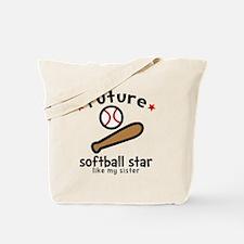 Softball Sis Tote Bag