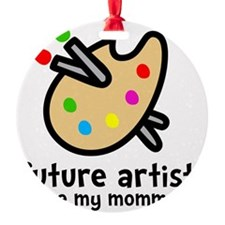 Artist Mom Ornament