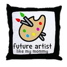 Artist Mom Throw Pillow