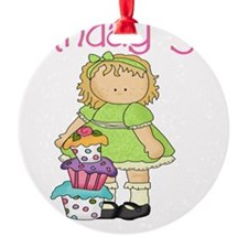 bday girl blond Ornament