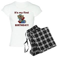 BDAY BEAR 1 Pajamas