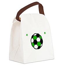 Soccer Bro -dk Canvas Lunch Bag